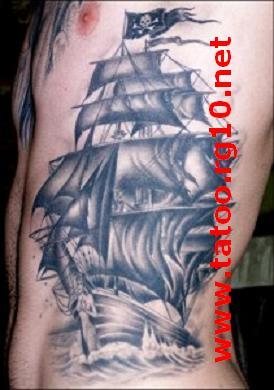 Navio Perola Negra Tattoo Desenhos Para Tatuagem