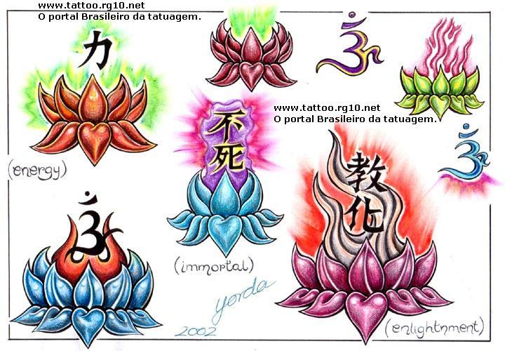 Read find lotus flower tattoos Flor de lotus